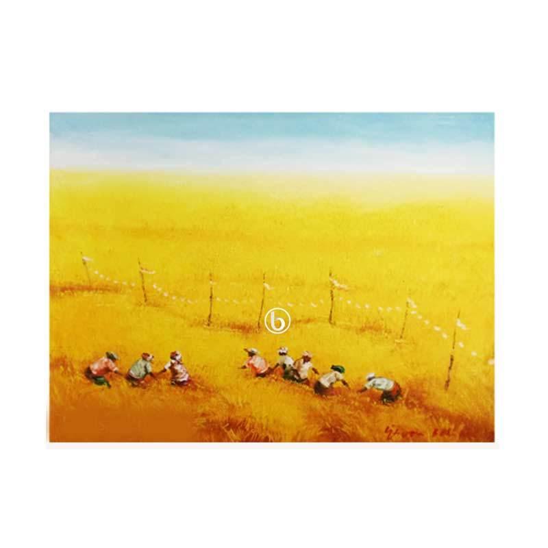 Lukisanku Panen P1-8 Lukisan Pemandangan
