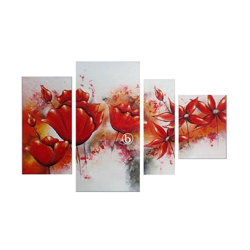 Lukisanku SB41-OKL Lukisan Bunga