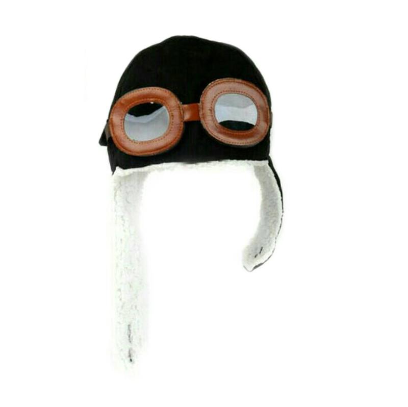 harga MOM Korean Pilot Hat Black Topi Bayi Blibli.com