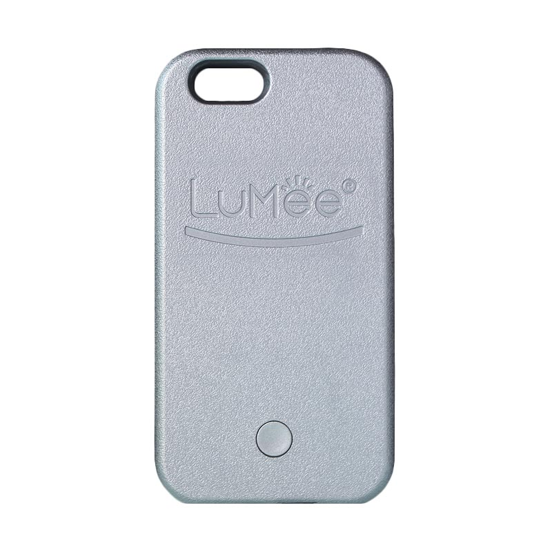 LuMee Selfie Casing with Powerbank for iPhone 6 PLUS - Dark Grey [4000 mAh]