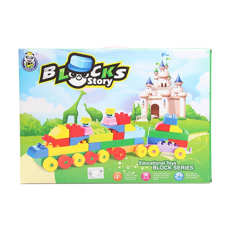 Blocks Story Multicolor Mainan Blok dan Puzzle