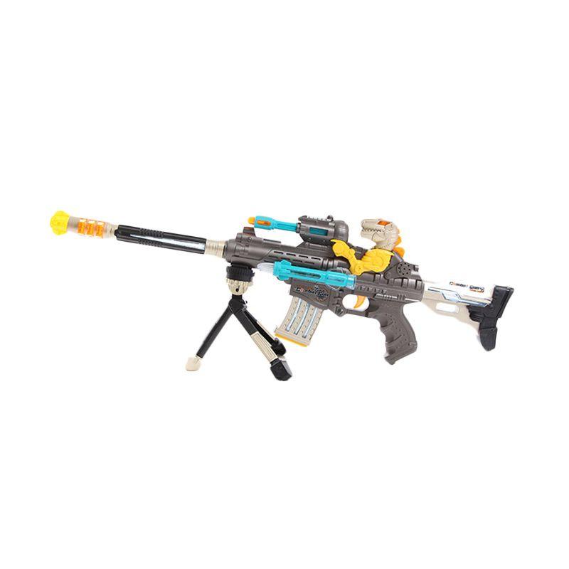 Dinosaur Swat Gun Pistol Mainan Anak