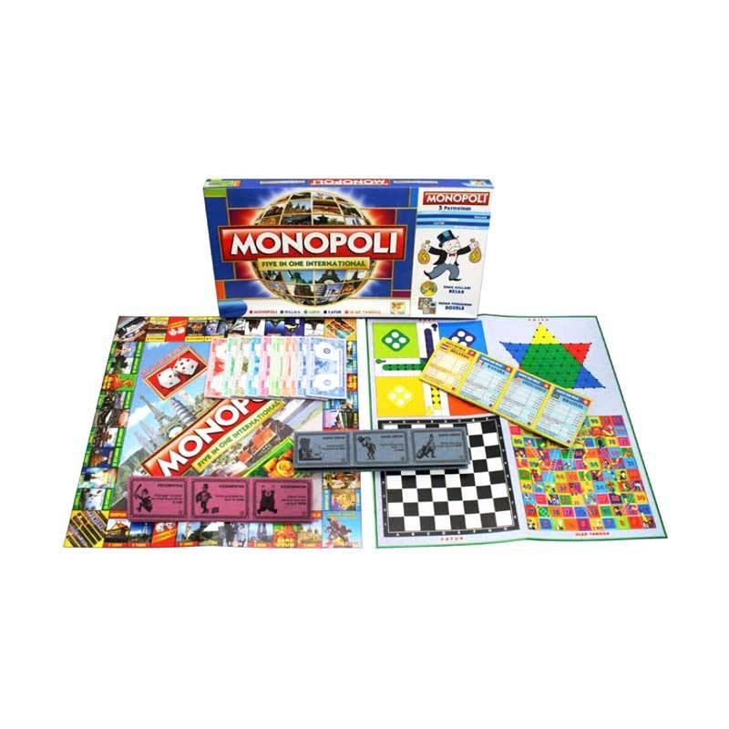 Lumi Monopoli 5 in 1 International Mainan Anak