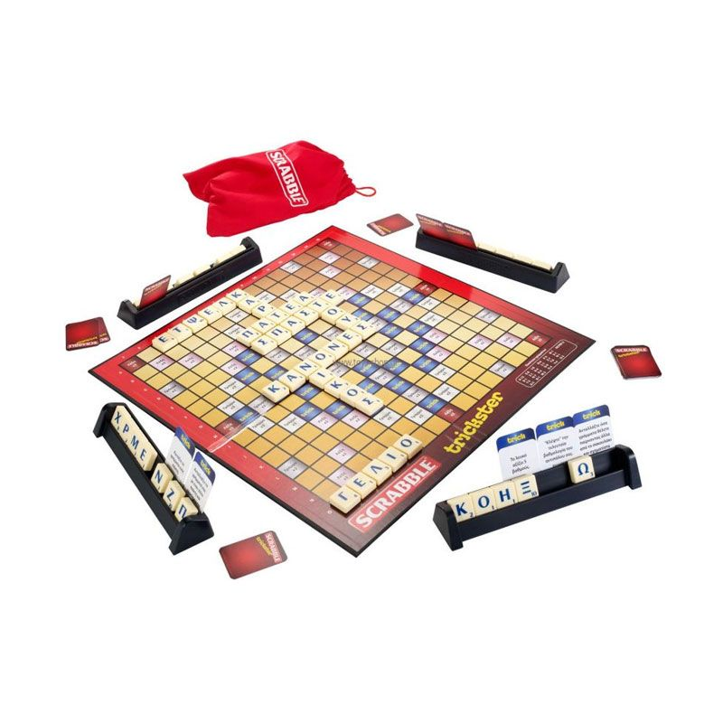 Mattel Scrabble Trickster Board Game