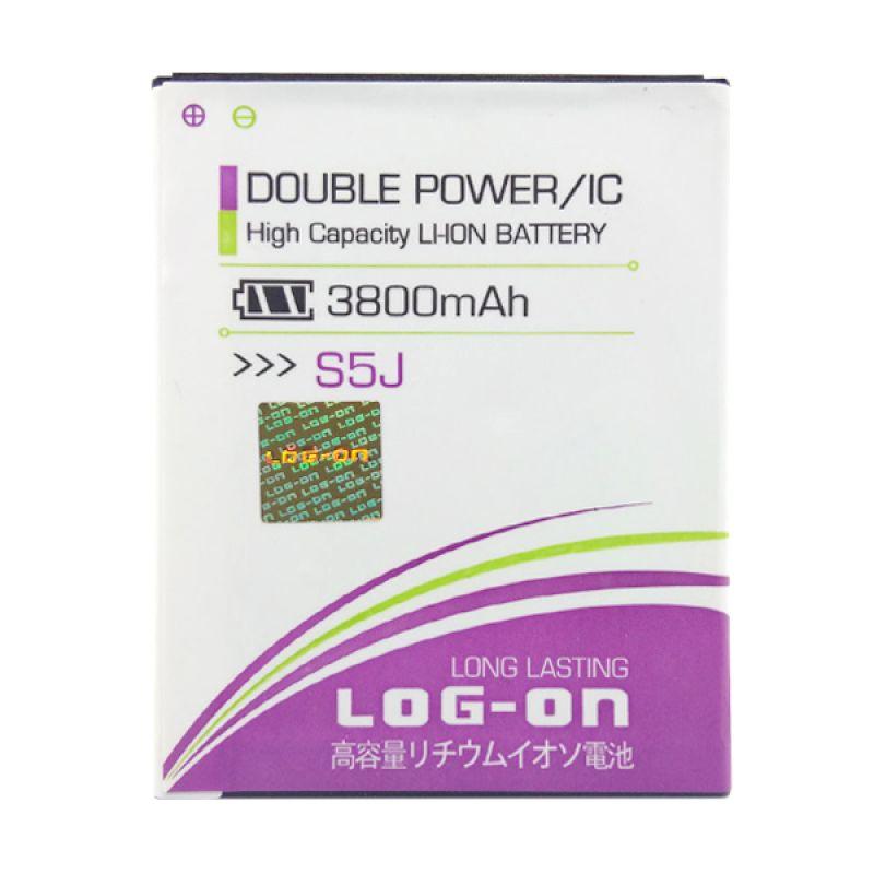 Log On Double Power Battery for Advan S5J [3800 mAh]