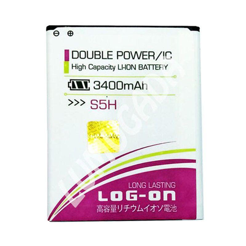 Log On Double Power Battery for Advan S5H [3400 mAh]