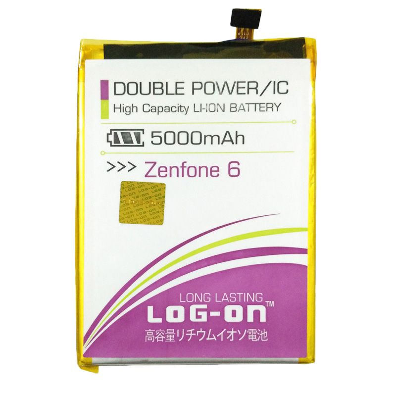 Log On Double Power Battery for ASUS Zenfone 6 [5000 mAh]