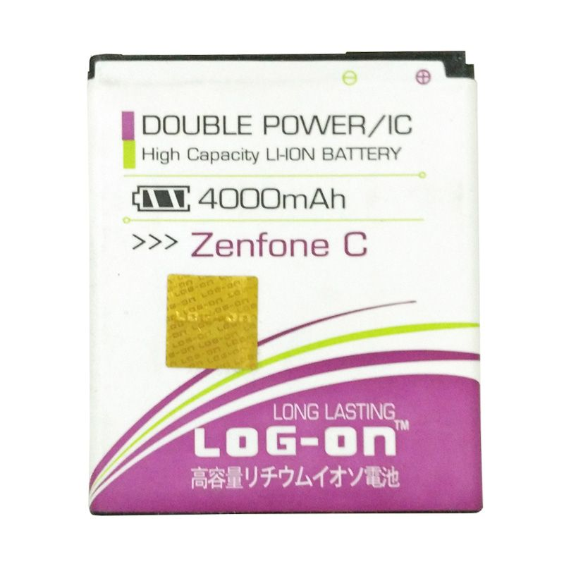 Log On Double Power Battery for ASUS Zenfone C [4000 mAh]