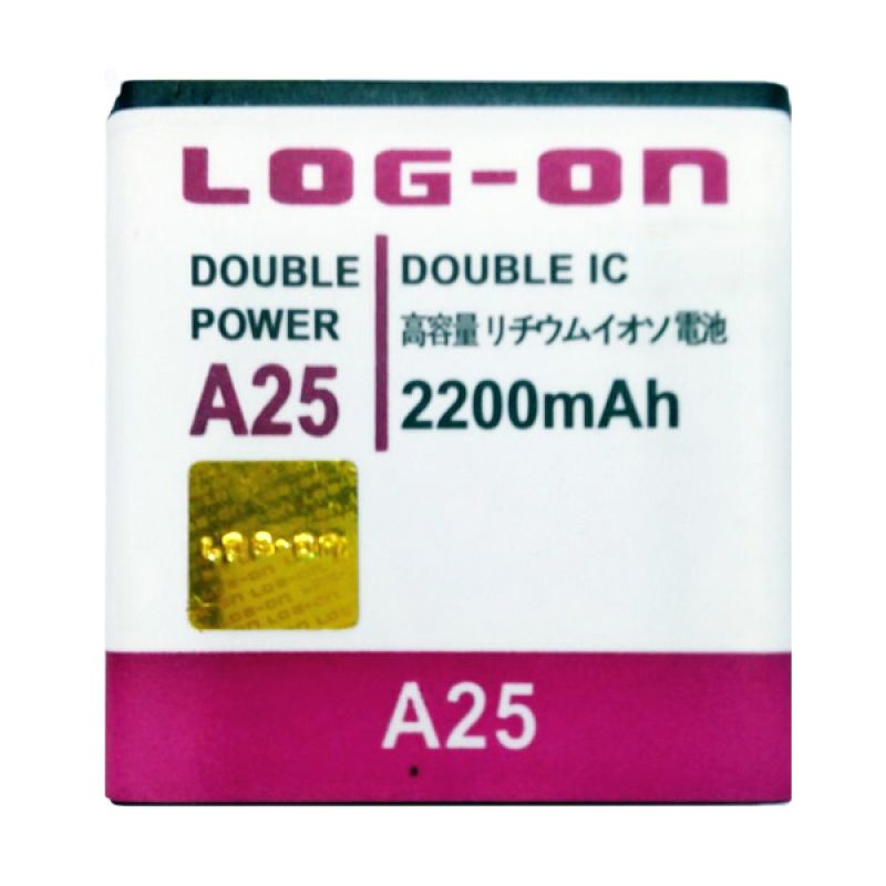 Log On Double Power Battery for Evercoss A25 [2200 mAh]