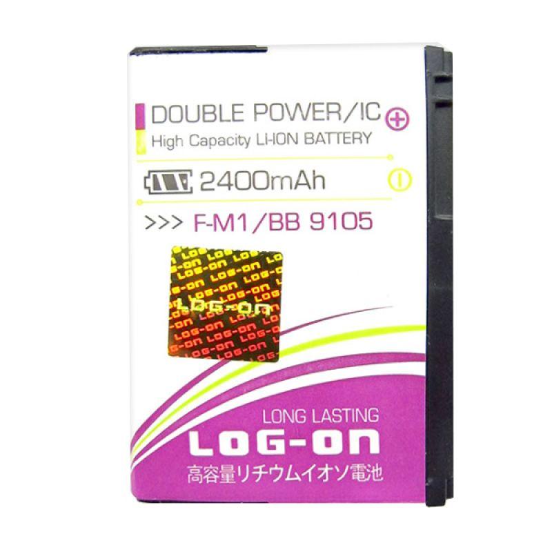 Log On Double Power Battery for F-M1 or Blackberry 9105 [2400 mAh]