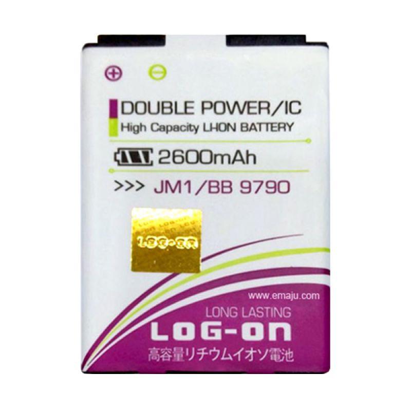 Log On Double Power Battery for JM1 or Blackberry Bellagio 9790 [2600 mAh]