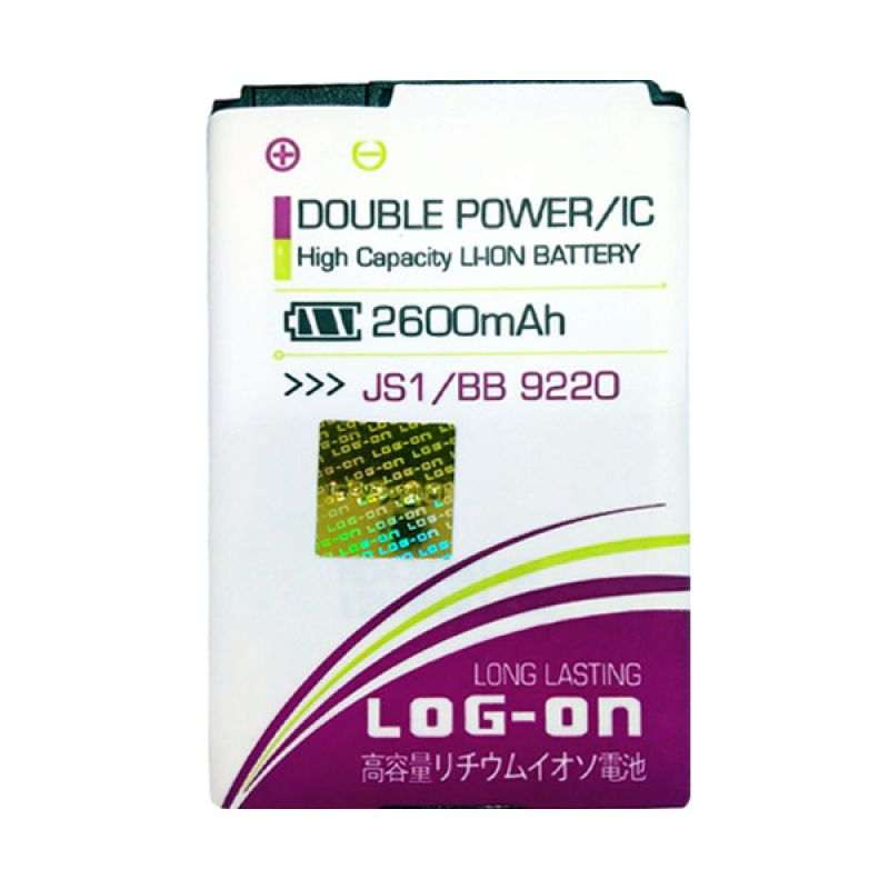 Log On Double Power Battery for JS1 or Blackberry 9220 [2600 mAh]