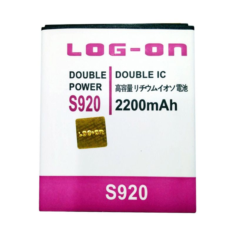 Log On Double Power Battery for Lenovo S920 [2200 mAh]