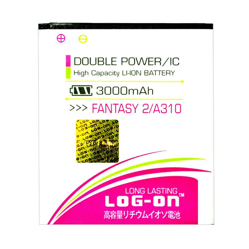 Log On Double Power Battery for MITO Fantasy 2 A310 [2800 mAh]