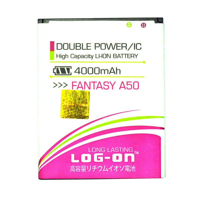 Log On Double Power Battery for MITO Fantasy A50 [4000 mAh]