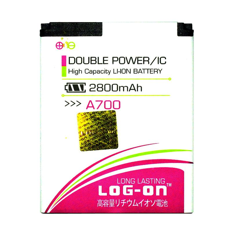 Log On Double Power Battery for MITO Fantasy Mini A700 [2800 mAh]