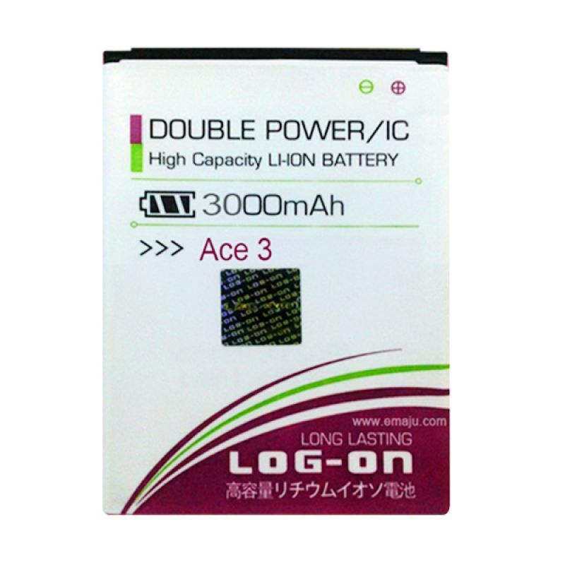Log On Double Power Battery for Samsung ACE 3 or S7270 [3000 mAh]