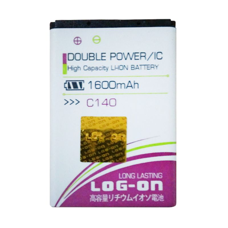 Log On Double Power Battery for Samsung Champ or C140 [1600 mAh]