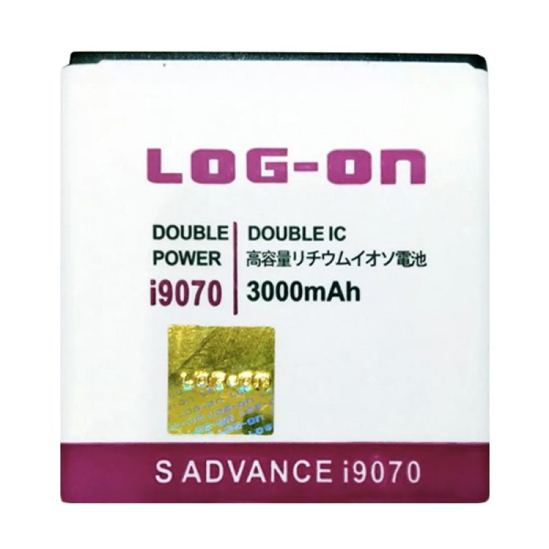 Log On Double Power Battery for Samsung Galaxy S Advance or I9070 [3000 mAh]