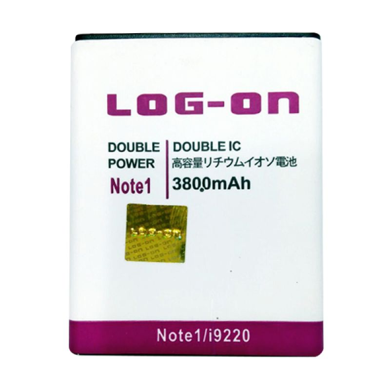 Log On Double Power Battery for Samsung Note 1 or I9220 [3800 mAh]
