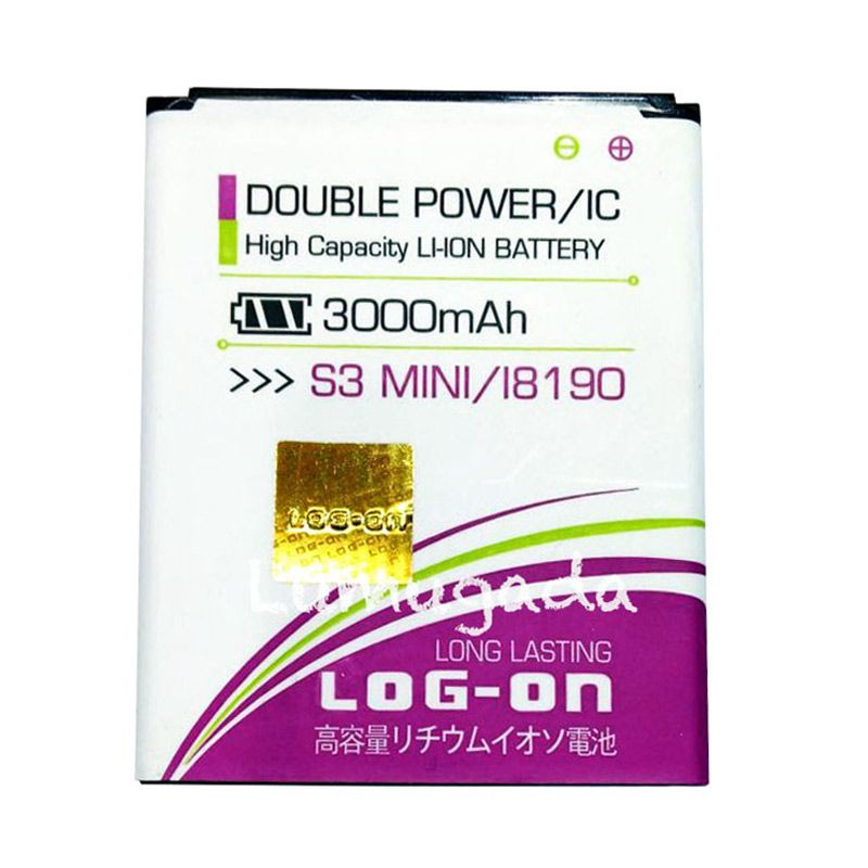 Log On Double Power Baterai for Samsung S3 Mini or I8190