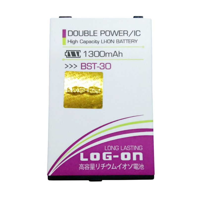Log On Double Power Battery for Sony BST-30 [1300 mAh]