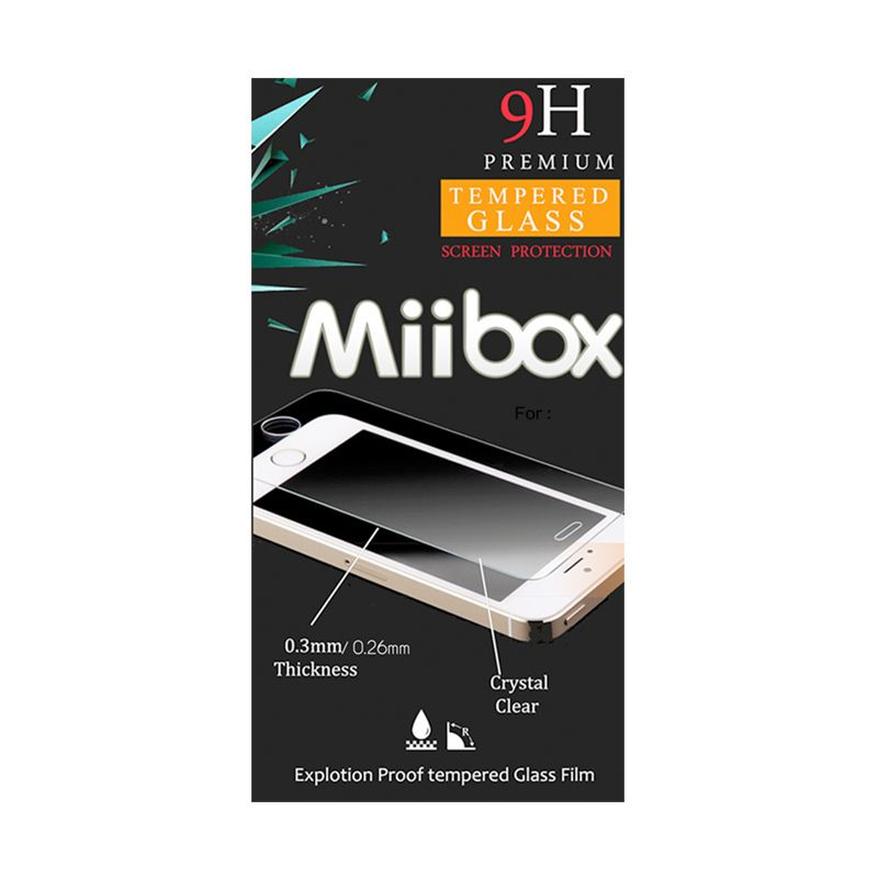 Miibox Tempered Glass Screen Protector for Samsung Galaxy S4 Mini I9190