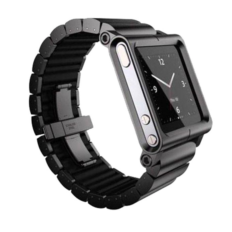 Lunatik Epik Link Aluminium Band for Apple Watch 42mm - Black