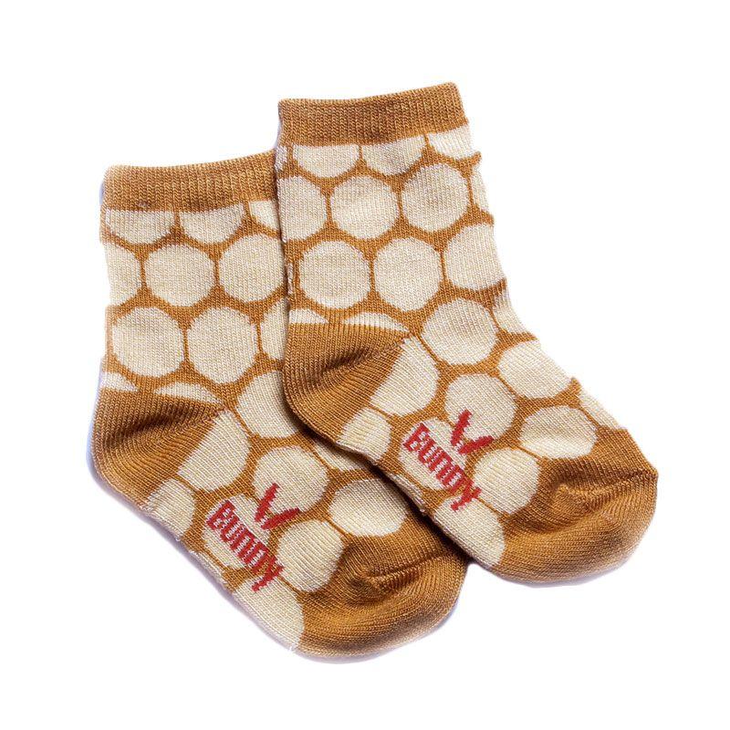 LustyBunny KK 3522C Coklat Muda Baby Socks