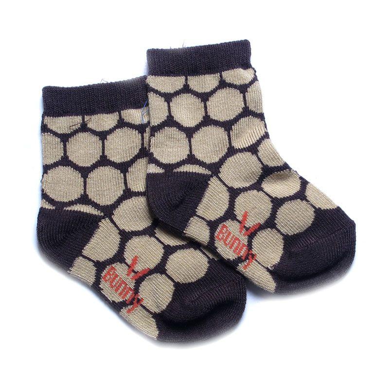 LustyBunny KK 3522D Hitam Baby Socks