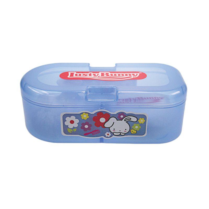 harga LustyBunny Capsule TB 1528A Biru Baby Powder Kotak Bedak Bayi Blibli.com