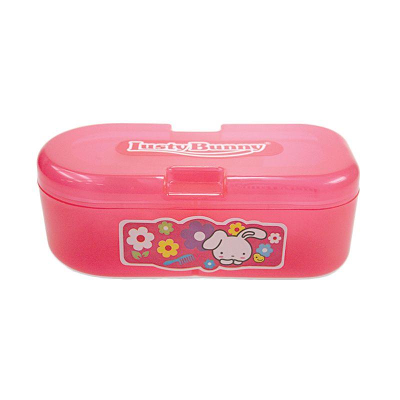 harga LustyBunny Capsule TB 1528B Pink Baby Powder Kotak Bedak Bayi Blibli.com