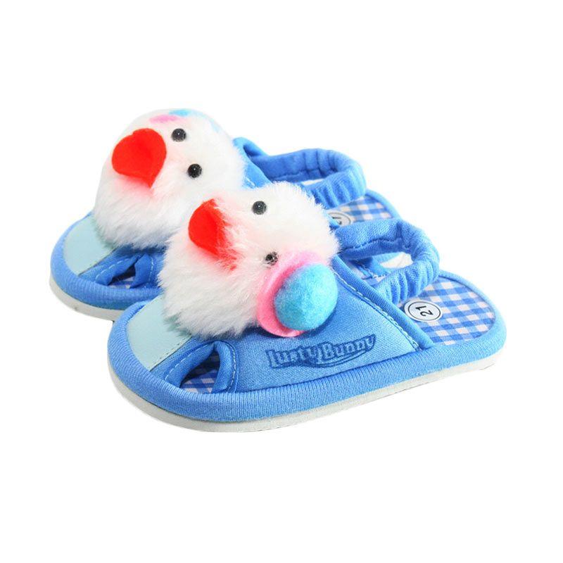 LustyBunny Doll PS 9706A Biru Sepatu Sendal Bayi