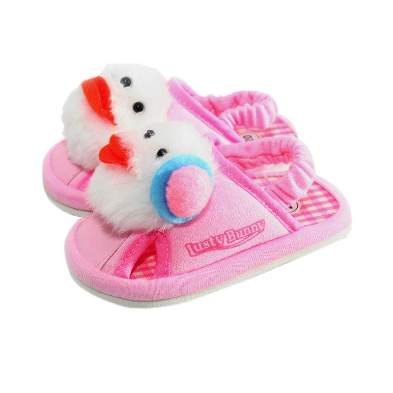 LustyBunny Doll PS 9706B Pink Sepatu Sendal Bayi