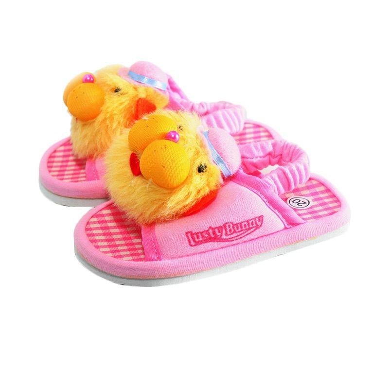 LustyBunny Doll PS 9708B Pink Sepatu Sandal Bayi
