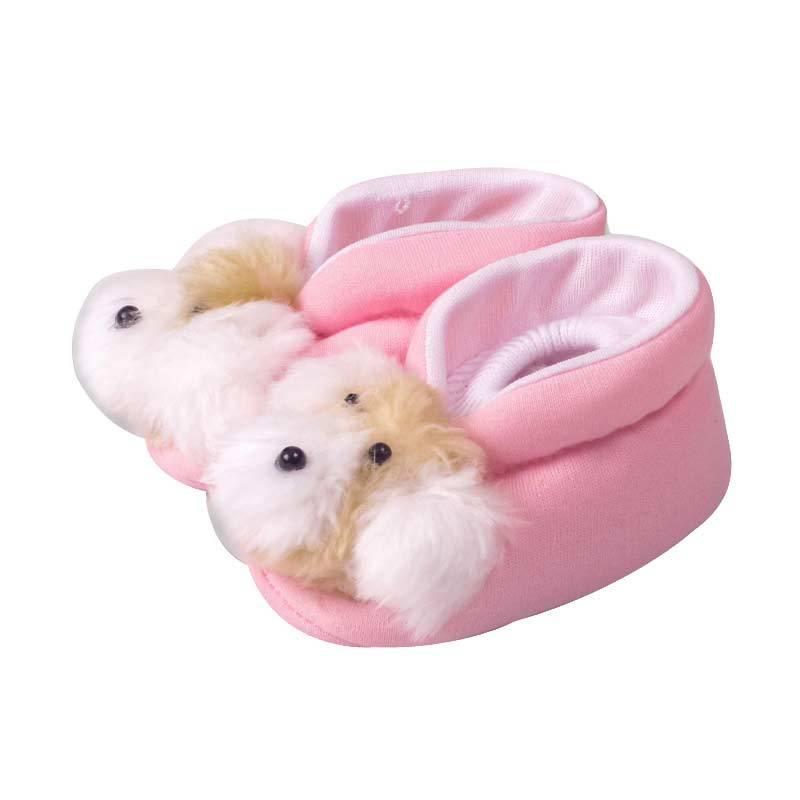 LustyBunny Doll SP 2815B Pink Sepatu Bayi