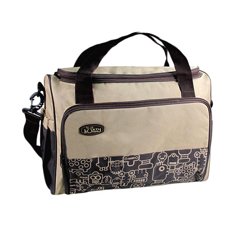 LustyBunny Mother Bag TS 1709 Coklat Tas Bayi