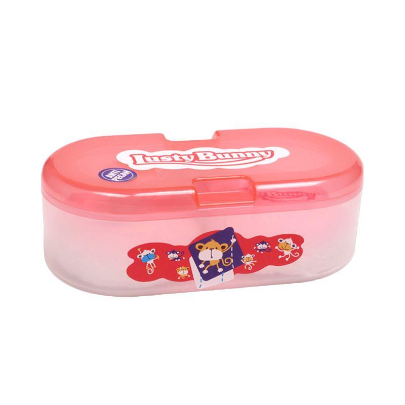 LustyBunny Oval Case TB 1603B Pink Baby Powder