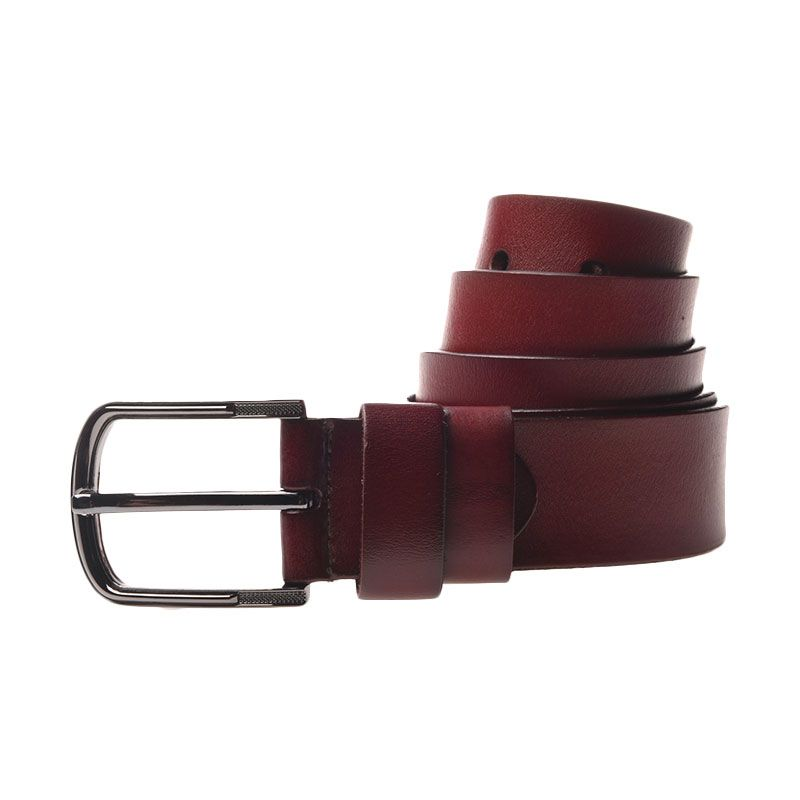 Lutece Vintage Belt 210 Dark Brown 110 cm