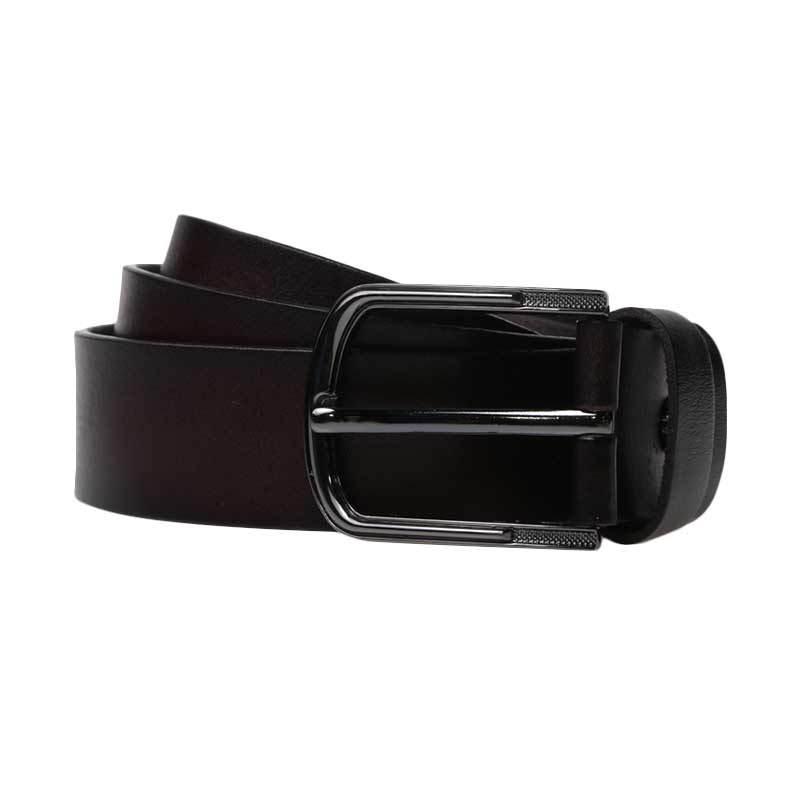 Lutece Vintage Belt 210 Maroon 110 cm