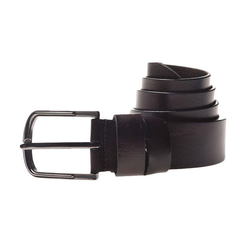 Lutece Vintage Belt 210 Maroon 115 cm