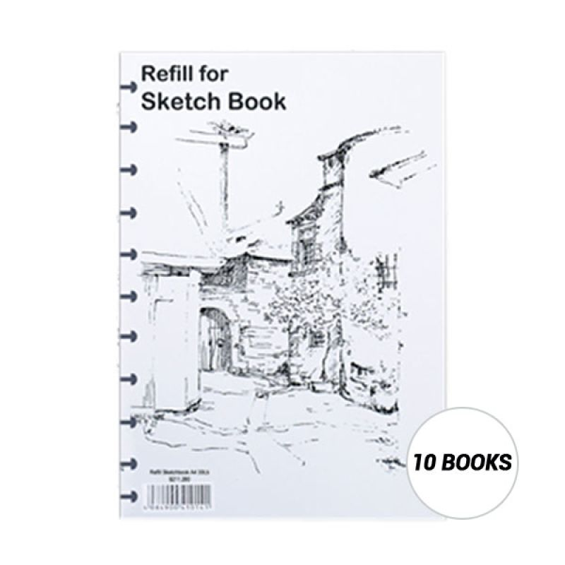 Lyra Buku Sketsa Refill A5