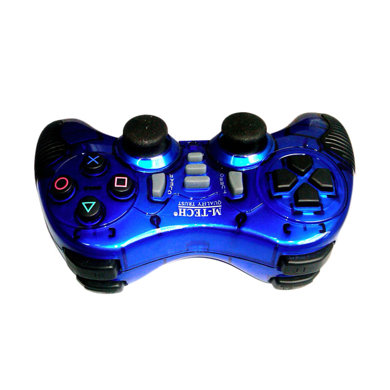 M-tech Blue Wireless Turbo Game Pad (2.4 GHz)