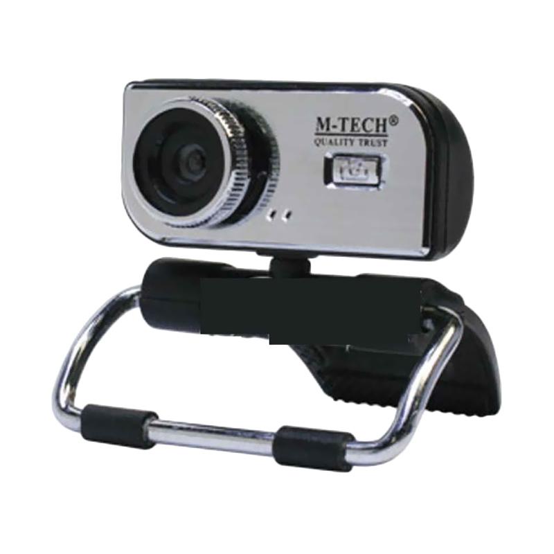M-Tech WB-100 Black Webcam Plus Mic [5MP]