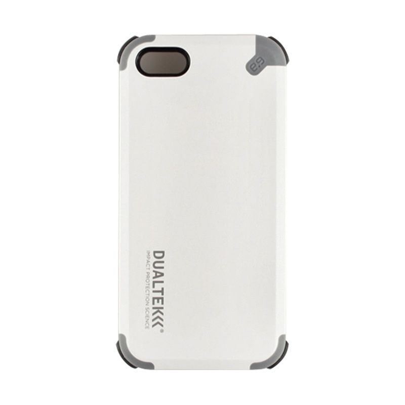 PureGear DualTek Extreme Shock Case + Shield for iPhone 5-Arctic White