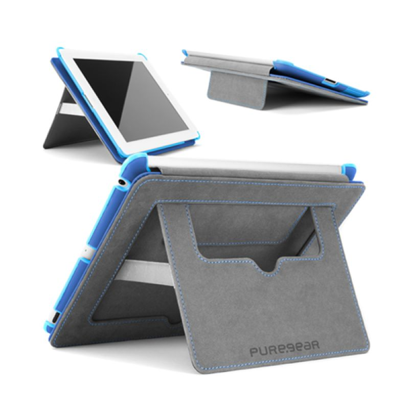 Puregear Folio with Kickstand Biru Casing for Tablet