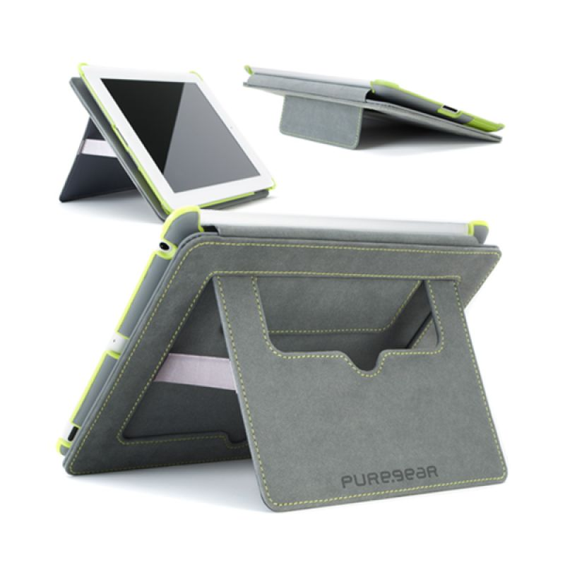 Puregear Folio with Kickstand Grey Casing for Tablet