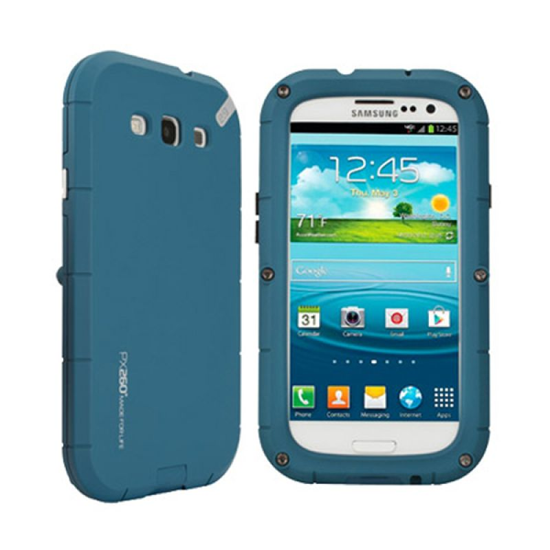 Puregear PX260 Biru Casing for Galaxy S3
