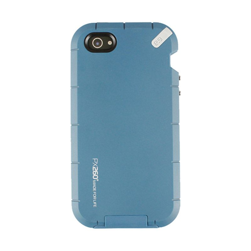 PureGear PX260 Weatherproof Extreme Protection System for iPhone 5 - Key Blue
