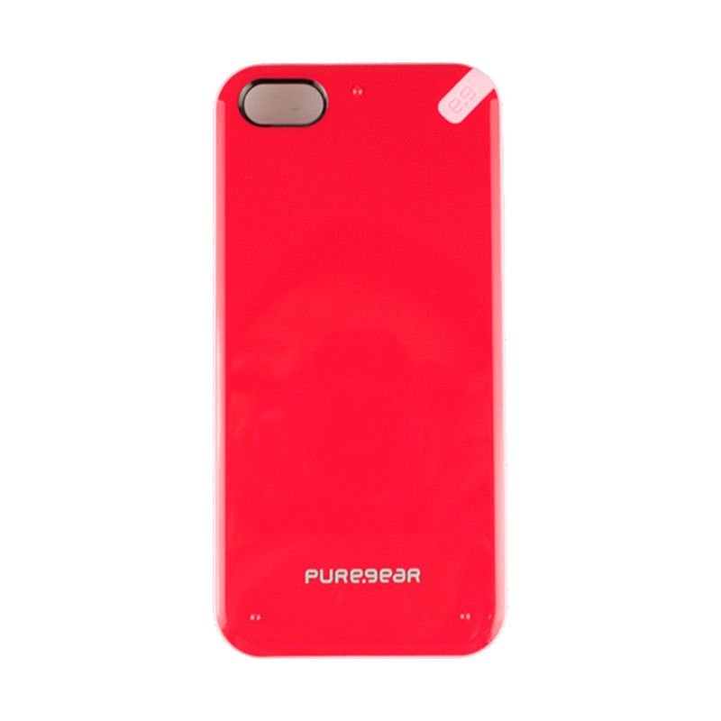 PureGear Slimshell For iPhone 5 -Strawberry Rubar